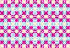 Círculos e quadrados Fotos de Stock
