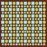 Círculos e quadrados Imagem de Stock Royalty Free