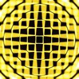 Círculos e teste padrão de estrela amarelos fotos de stock