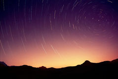 Círculos en el cielo Fotos de archivo libres de regalías