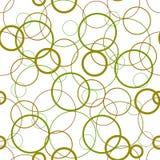 Círculos en una textura blanca del fondo Fotos de archivo