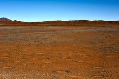 Círculos feericamente - Namíbia Fotografia de Stock
