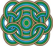 Círculos geométricos Imágenes de archivo libres de regalías