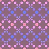 Círculos geométricos simples do teste padrão 3 Imagem de Stock Royalty Free