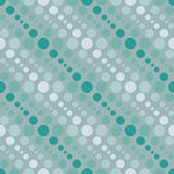 Círculos geométricos simples do teste padrão 2a Fotografia de Stock Royalty Free