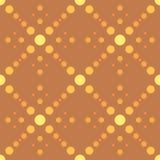 Círculos geométricos simples do teste padrão 4 Fotos de Stock Royalty Free