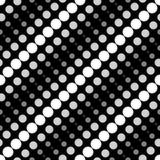 Círculos geométricos simples do teste padrão 6a Foto de Stock