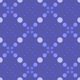 Círculos geométricos simples do teste padrão 5 Fotografia de Stock