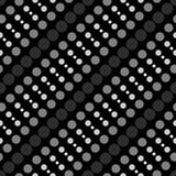 Círculos geométricos simples do teste padrão 6b Imagens de Stock