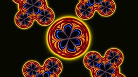 Círculos giratorios ilustración del vector