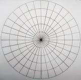 Círculos hechos de círculos y de ligns imagenes de archivo