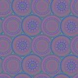 Círculos modelados ornamento Imagen de archivo