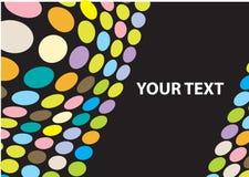 Círculos Multi-colored Imagem de Stock