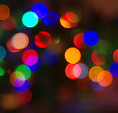Círculos multi-coloridos festivos coloridos fotos de stock