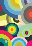 Círculos multicolores Imagen de archivo libre de regalías