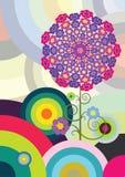 Círculos multicolores Fotografía de archivo