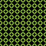 Círculos negros 3 del verde ilustración del vector