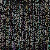 Círculos no fundo preto, imagem abstrata ilustração stock