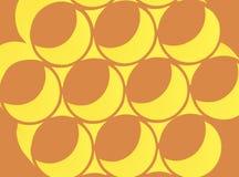 Círculos retros abstractos Fotografía de archivo