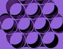 Círculos retros abstractos Foto de archivo libre de regalías