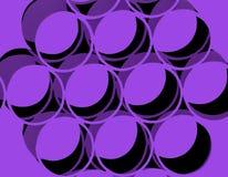 Círculos retros abstractos Imagen de archivo libre de regalías