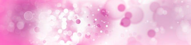 Círculos rosados abstractos Fotografía de archivo