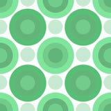Círculos verdes Foto de Stock Royalty Free