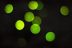 Círculos verdes imagenes de archivo