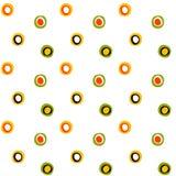 Círculos y modelo populares superficiales inconsútiles de los puntos ilustración del vector