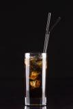 Cóctel alcohólico con la Coca-Cola Imagenes de archivo