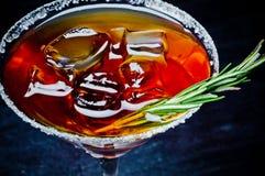 Cóctel alcohólico dulce Foto de archivo