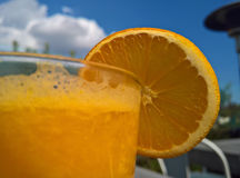 Cóctel anaranjado 2 del verano Fotografía de archivo libre de regalías