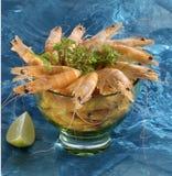 Cóctel de camarón imagenes de archivo