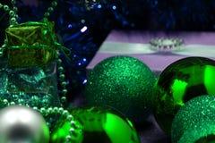 Cóctel de Champán para la celebración del Año Nuevo y de la Navidad Imagenes de archivo