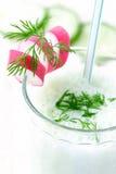 Cóctel de la verdura de la lechería Fotos de archivo