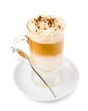 Cóctel de los licores de la crema y de café Imagen de archivo