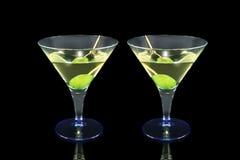 Cóctel de Martini Fotografía de archivo