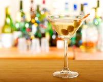 Cóctel de Martini Foto de archivo libre de regalías