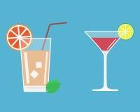Cóctel del alcohol Fotos de archivo