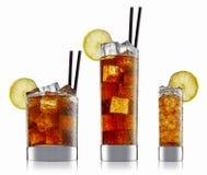 Cóctel del alcohol aislado en el fondo blanco Fotografía de archivo libre de regalías