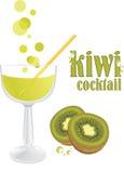 Cóctel del kiwi Foto de archivo libre de regalías