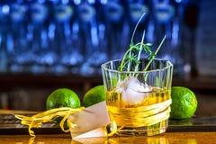 Cóctel del whisky imagen de archivo libre de regalías