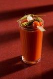 Cóctel delicioso del bloody mary del tomate Foto de archivo