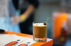 Cóctel delicioso del café foto de archivo libre de regalías