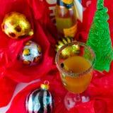 Cóctel o Mocktail del día de fiesta Imagen de archivo