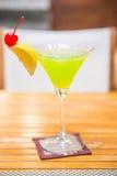 Cóctel popular del daiquirí del melón Fotografía de archivo