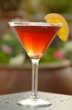 Cóctel rojo de Martini Foto de archivo libre de regalías