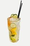 Cócteles alcohólicos fríos con hielo Imagen de archivo
