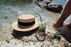 Cócteles de restauración del verano con la menta Fotos de archivo