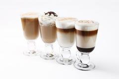 Cócteles del café Imagen de archivo